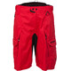 Zimtstern Tauruz Bike Shorts Men Tomato